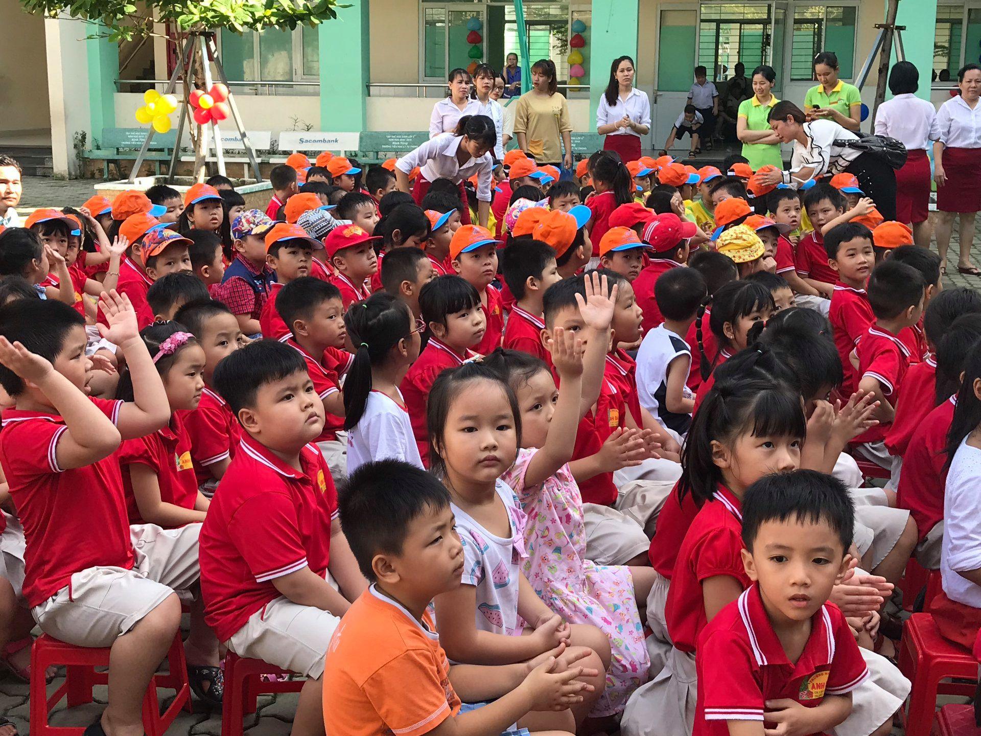 Trường mầm non Anh Đào - Đông Hưng Thuận