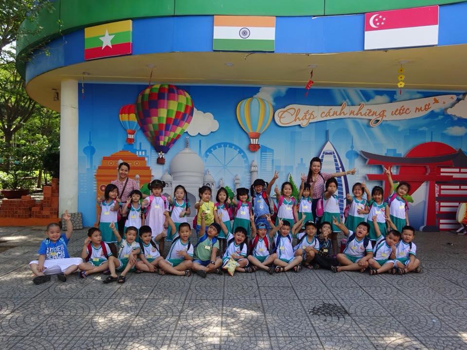 Trường mầm non Ánh Hồng - Tân Thới Nhất