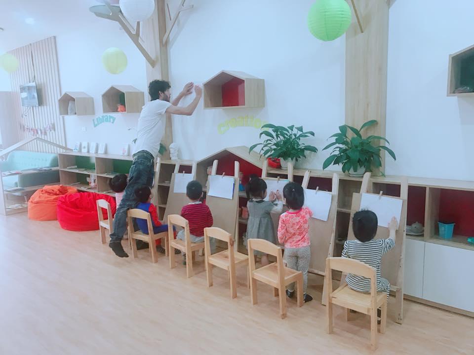 Trường Mầm non Anh Mỹ Kindergarten - Hàm Nghi