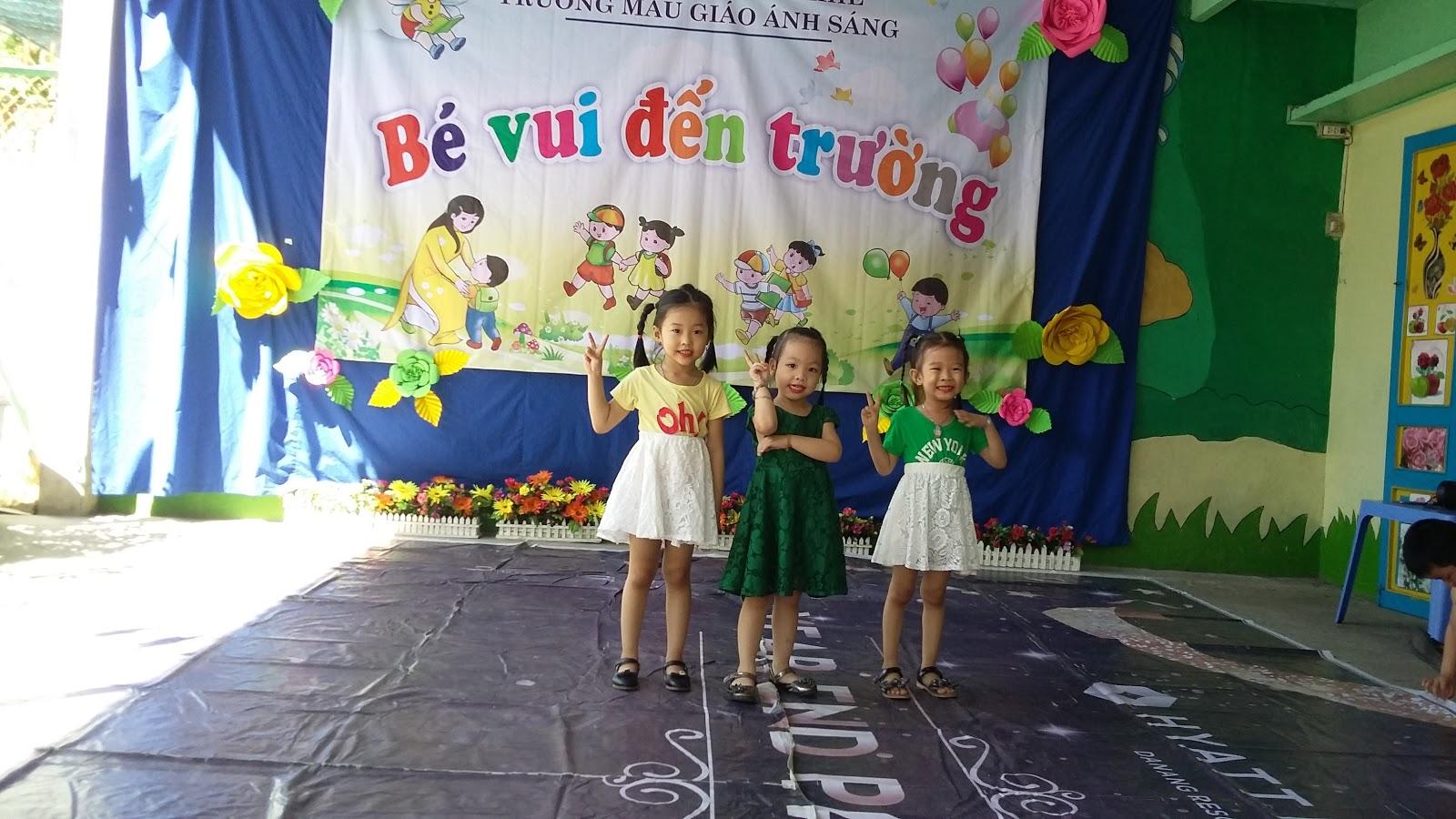 Trường mầm non Ánh Sáng -  Huỳnh Ngọc Huệ