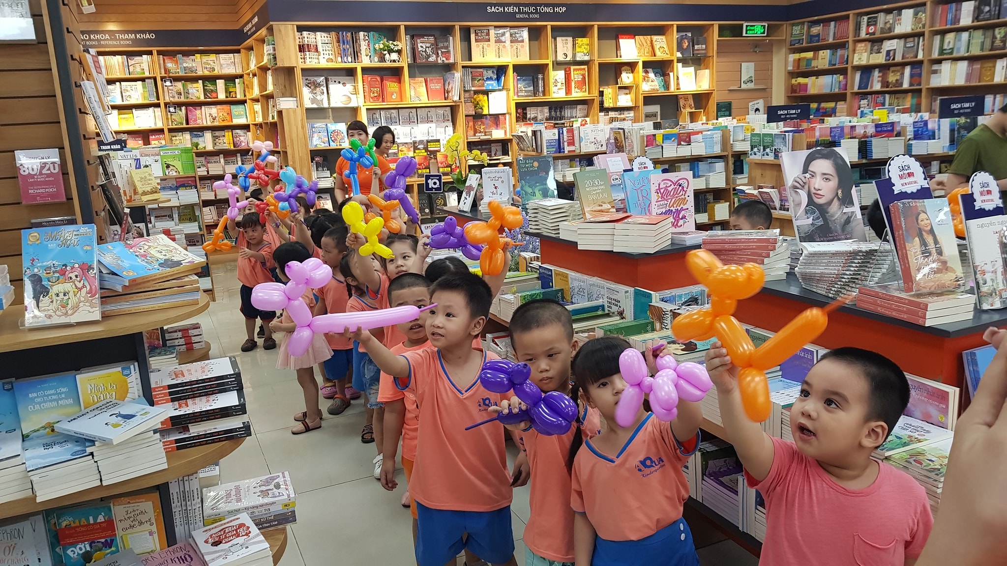 Trường mầm non Aqua Kindergarten - Mầm non xanh cho tương lai xanh - Lê Trọng Tấn