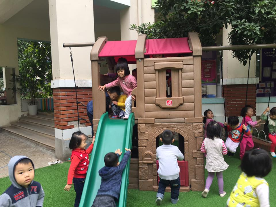 Trường mầm non Bách Khoa - phố Nguyễn Hiền