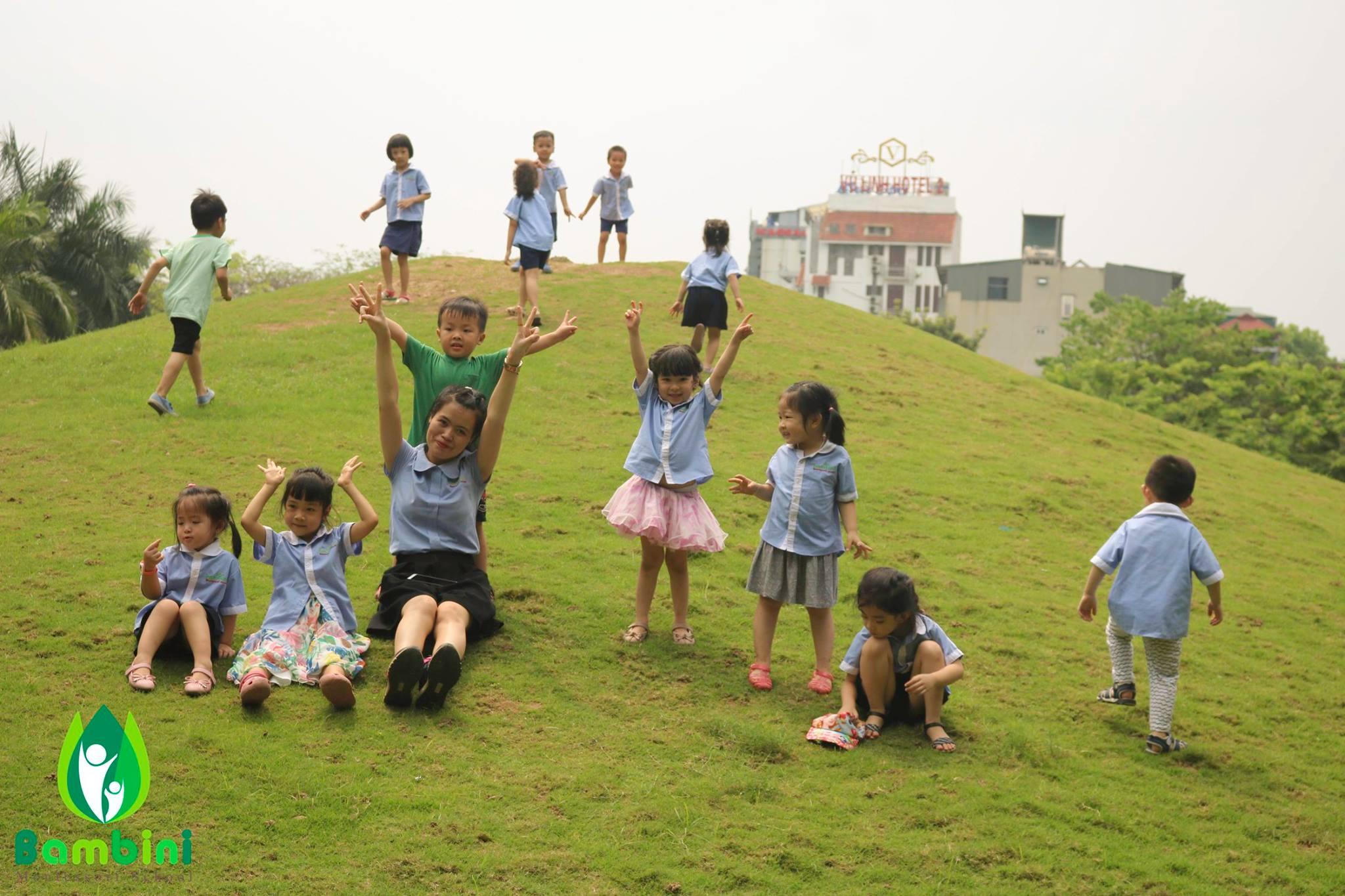 Trường mầm non Bambini Montessori School (BMS) - Mộ Lao