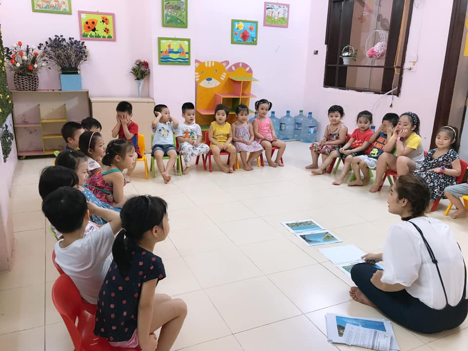 Trường mầm non Chất lượng cao Bách Việt - Hoàng Ngọc Phách - Láng Hạ