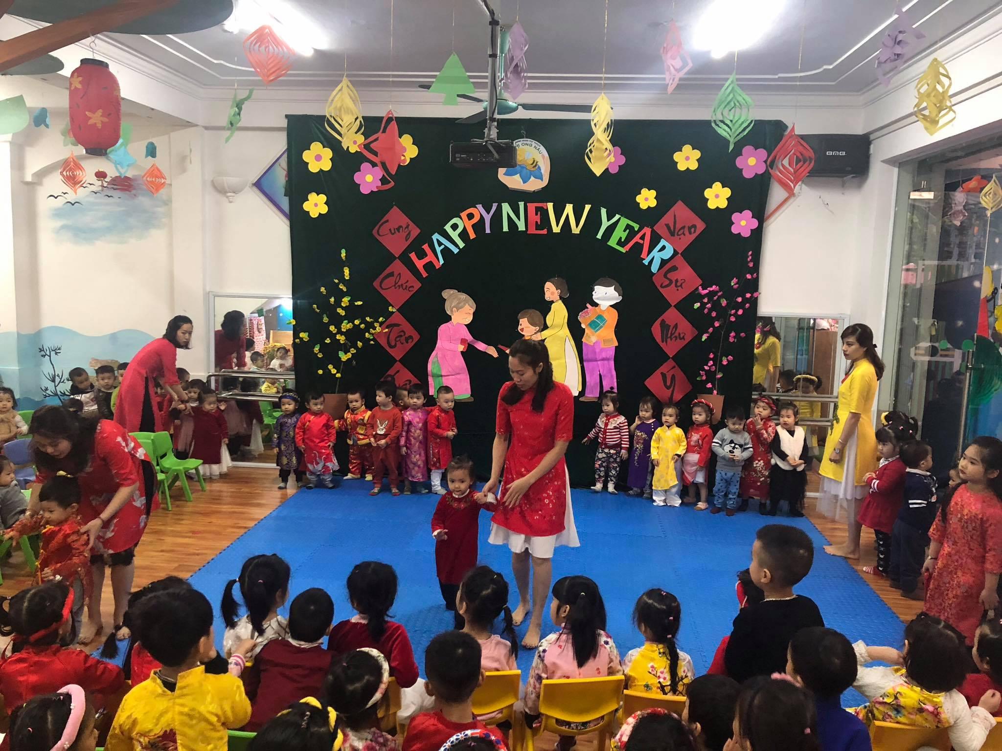 Trường mầm non Chị ong nâu - ngõ 20 Trương Định, Hà Nội
