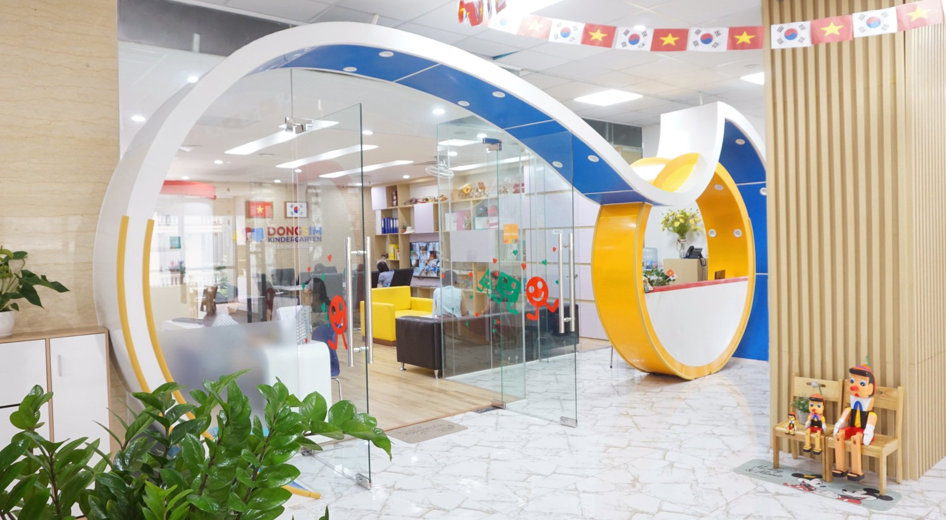 Trường mầm non Dongsim Kindergarten - Yên Hòa