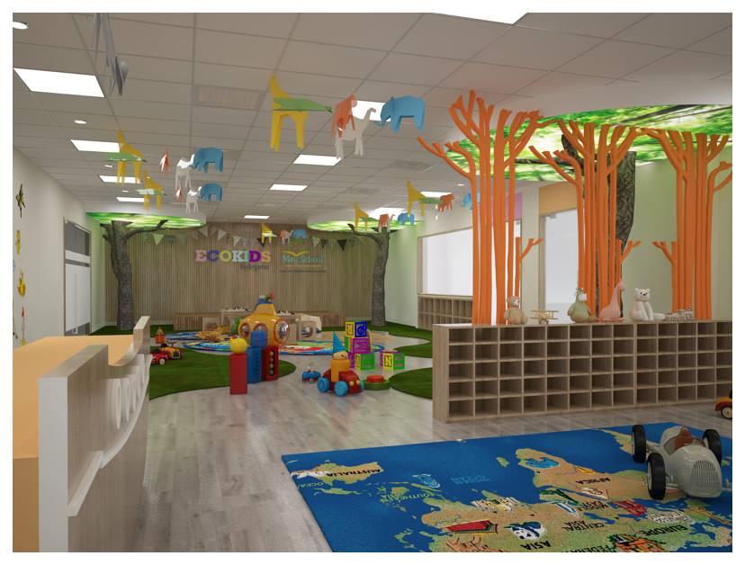 Trường mầm non Ecokids Garden City - Đại Mỗ