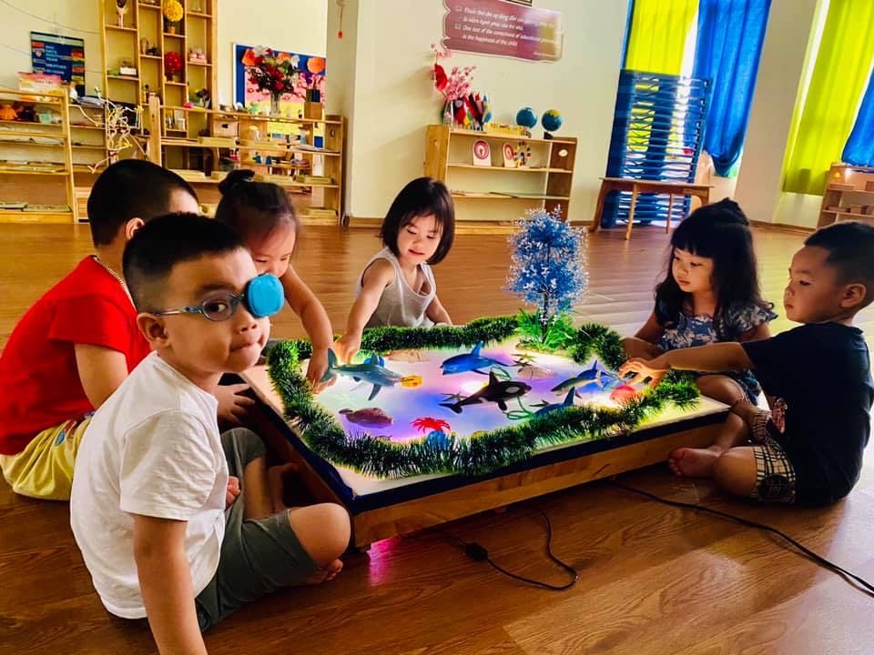 Trường mầm non Einstein Academy - Chung cư New Horizon, 87 Lĩnh Nam