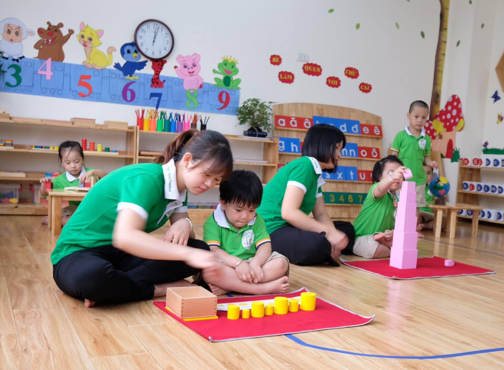 Trường mầm non Hà Nội Seoul (Hanoi Seoul Montessori Preschool) -  Đường Đỗ Nhuận