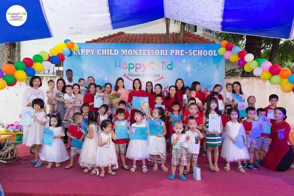 Trường mầm non Happy Child Montessori -  KĐT Mễ Trì Hạ
