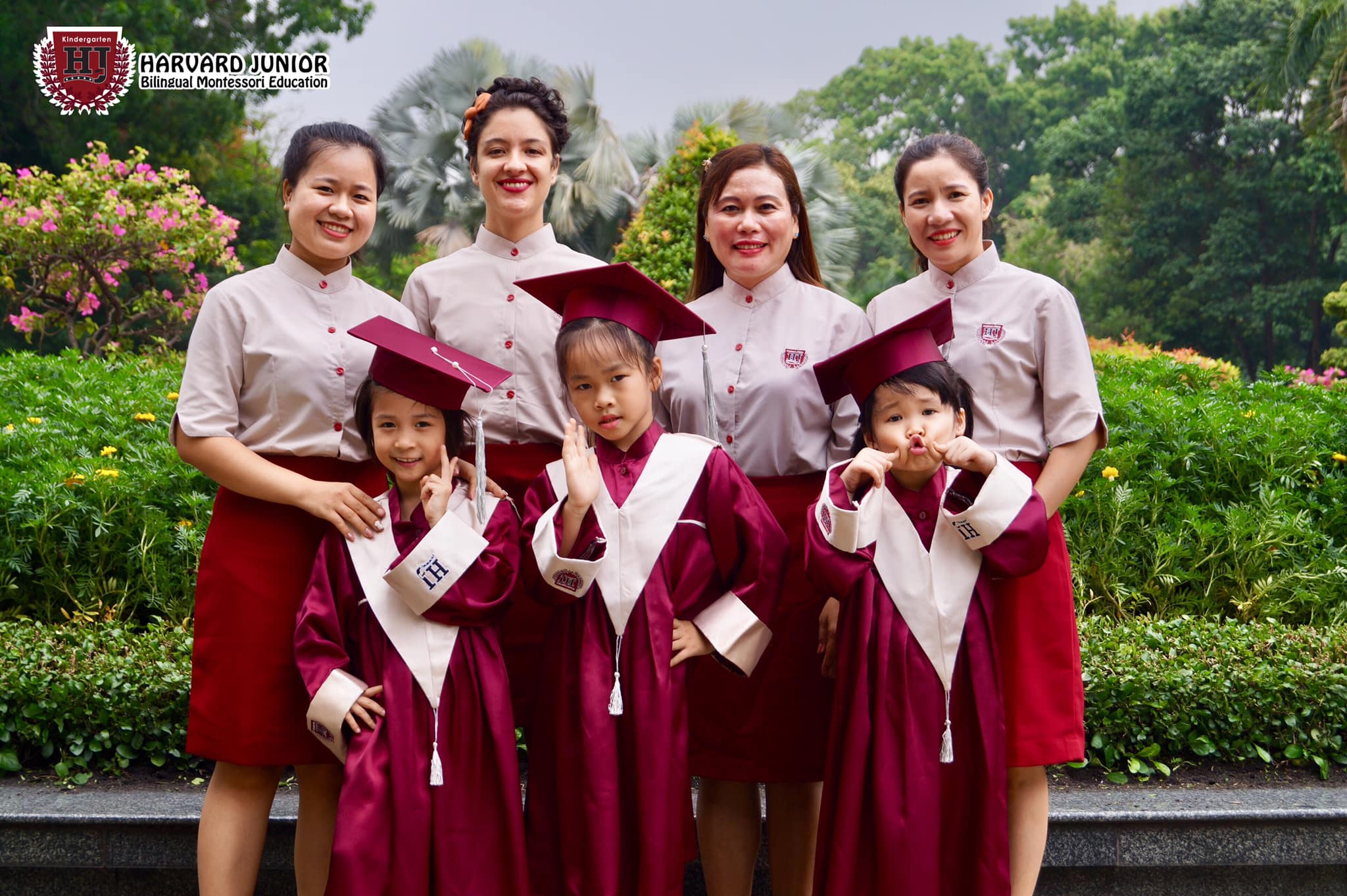 Trường mầm non Harvard Junior  Montessori - KDC Cityland CenterHills Gò Vấp
