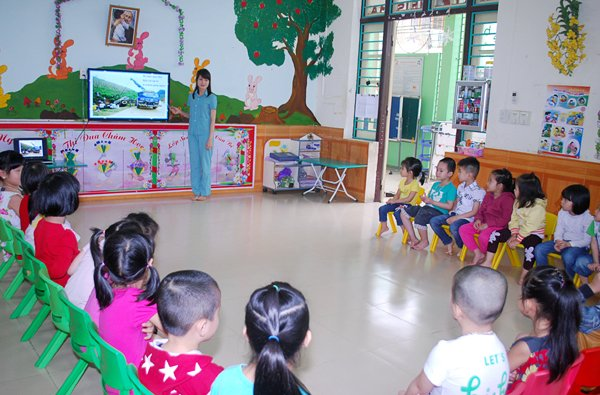 Trường mầm non Hòa Bình - Thôn 8
