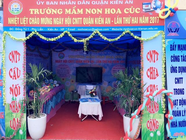 Trường mầm non Hoa Cúc - Phù Liễn