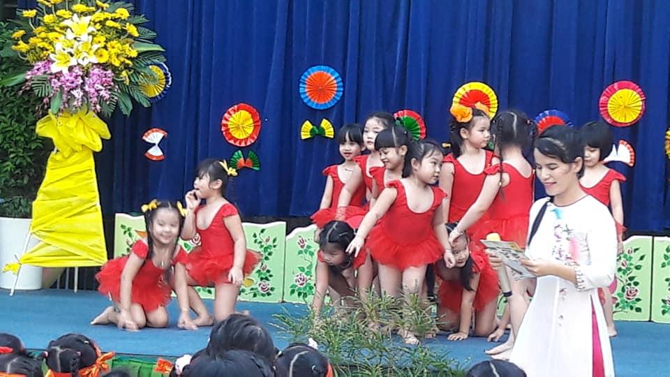Trường mầm non Hoa Hồng - Phường 3