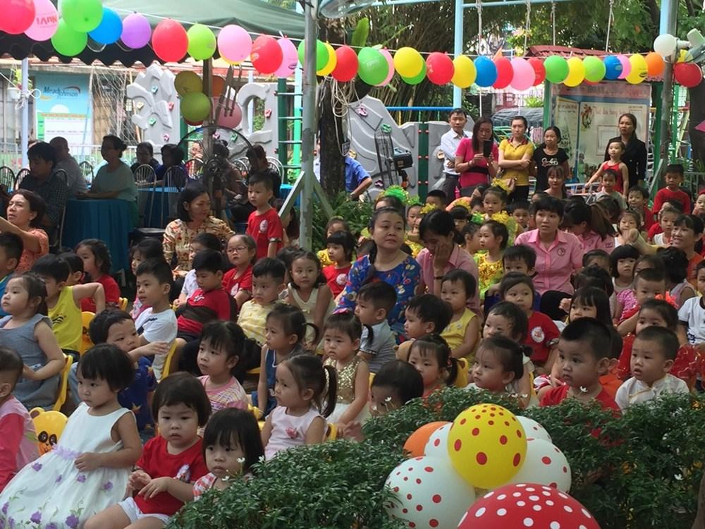 Trường mầm non Hoa Lan - Phường 4