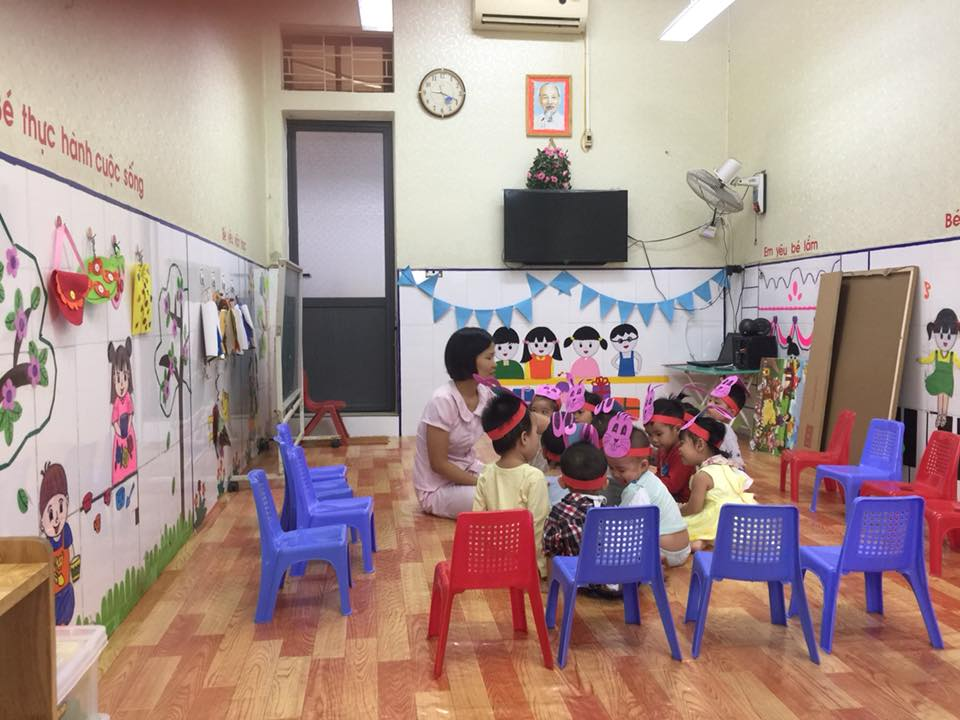 Trường mầm non Hoa Mai - Vạn Phúc