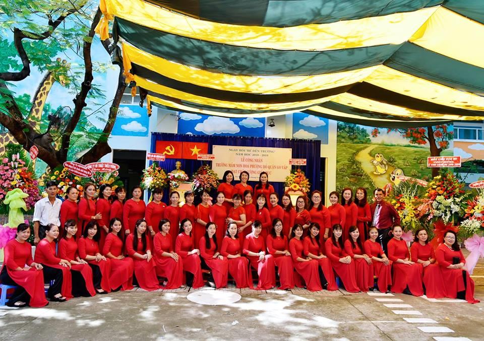 Trường mầm non Hoa Phượng Đỏ - Phường 6 Gò Vấp
