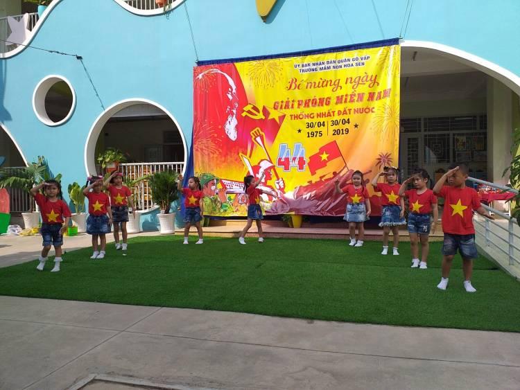 Trường mầm non Hoa Sen - Phường 15