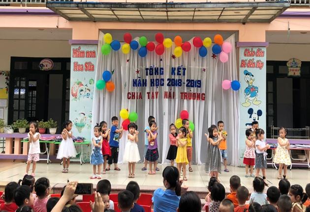Trường mầm non Hoa Sữa - xã Yên Viên