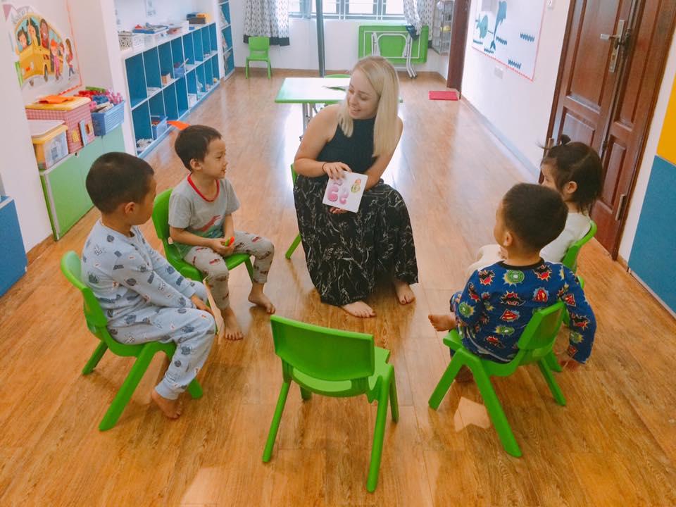 Trường mầm non Hoa Trạng Nguyên - KDT Văn Quán