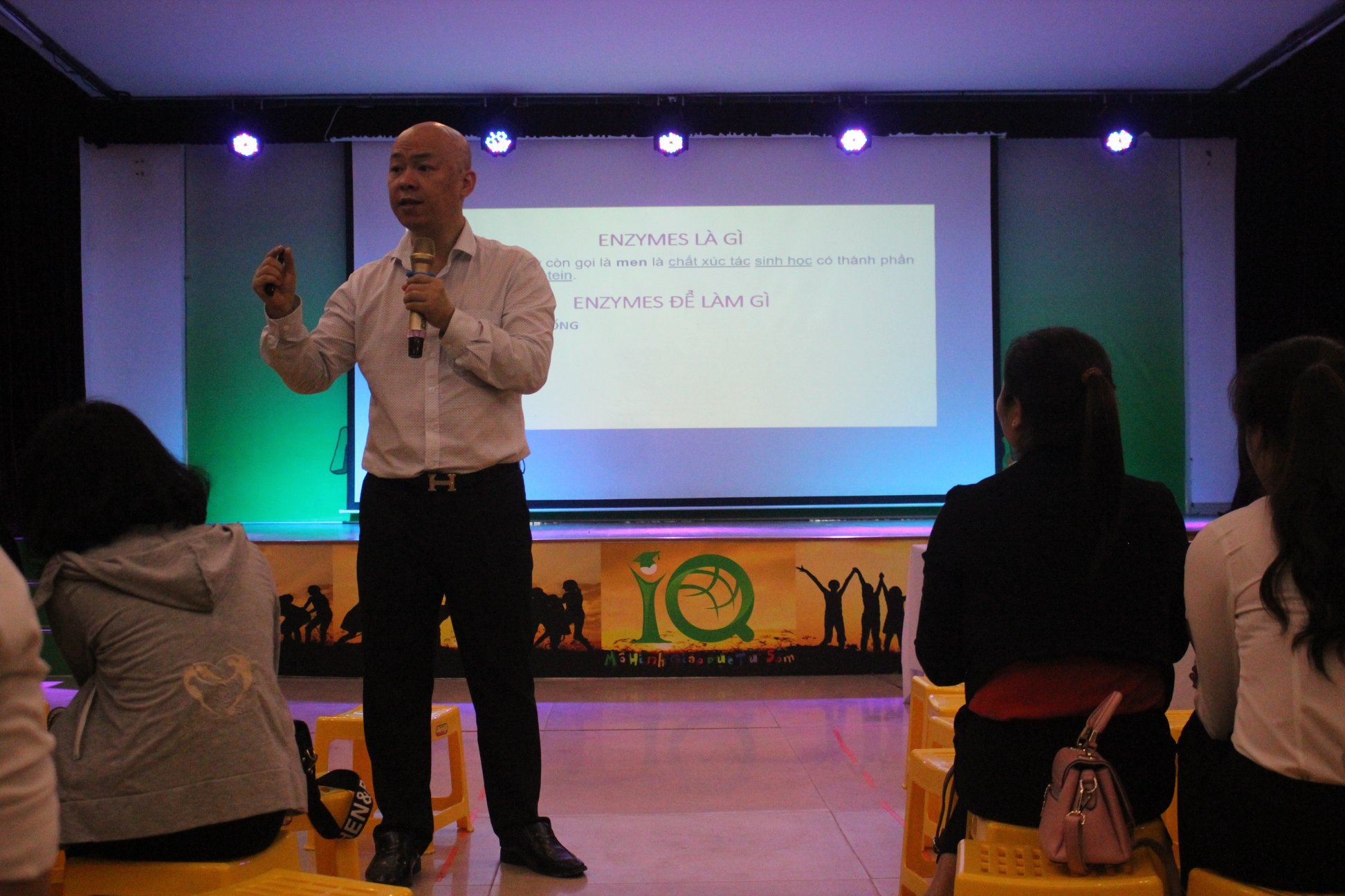 Trường mầm non Học viện IQ ( IQ School)  - 55 Lê Lai