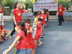 Trường mầm non Hồng Nhung - Phường 4
