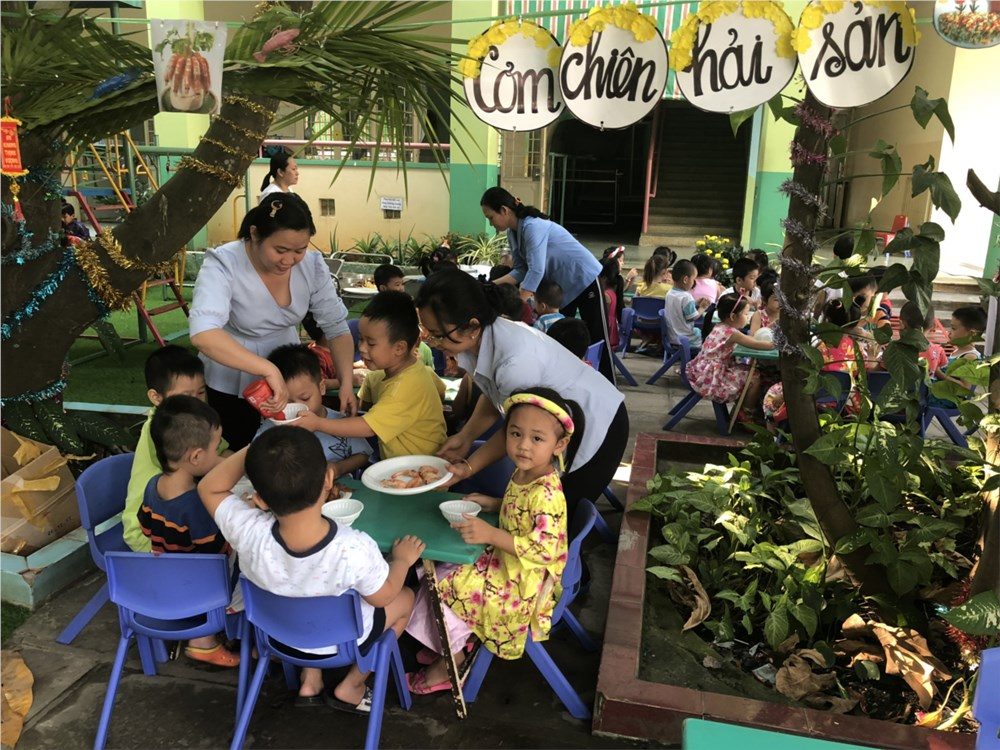 Trường mầm non Hồng Yến - Thạnh Xuân