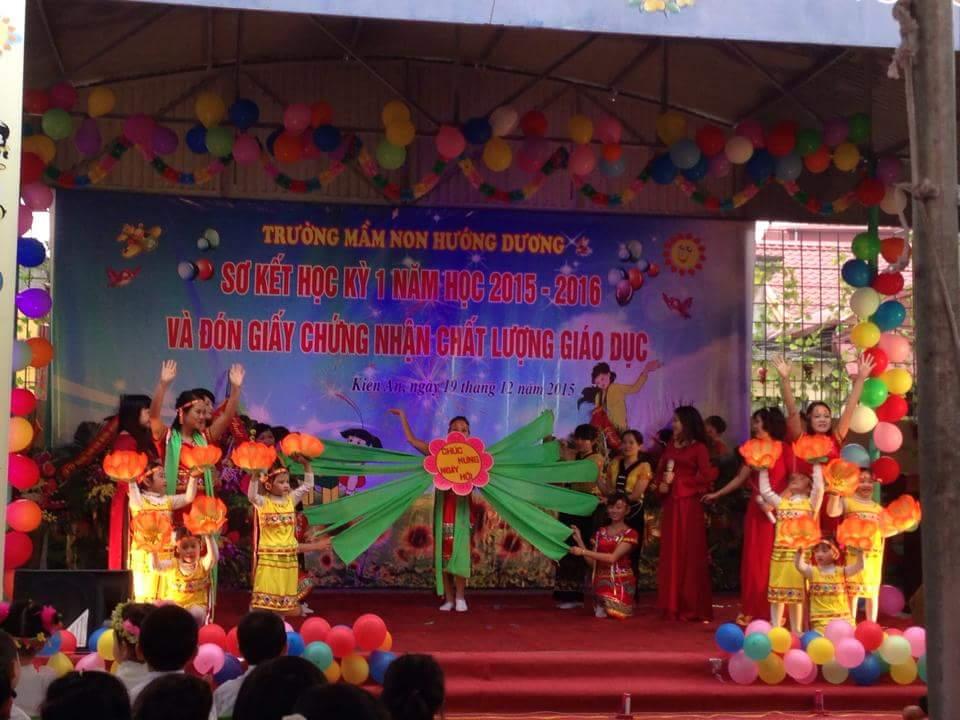 Trường mầm non Hướng Dương -  Ngọc Sơn, Kiến An