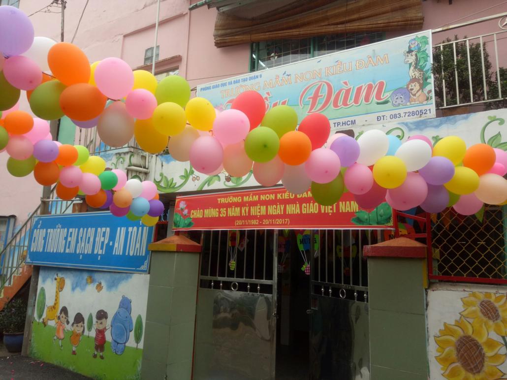 Trường mầm non Kiều Đàm - Phước Long A