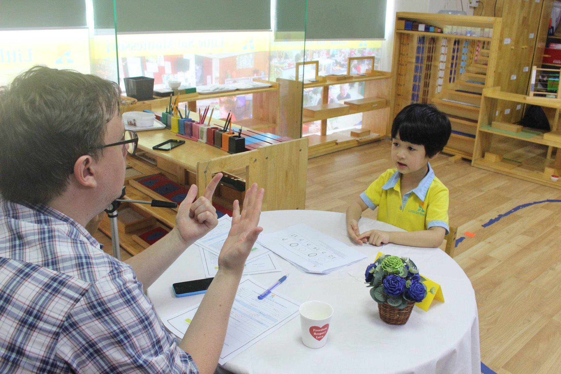 Trường mầm non Little Sol Montessori Preschool - Trường Chinh (Cơ sở 1 và  2)