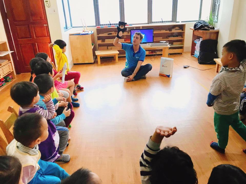 Trường mầm non Marie Curie Montessori Kindergarten - Tô Hiệu
