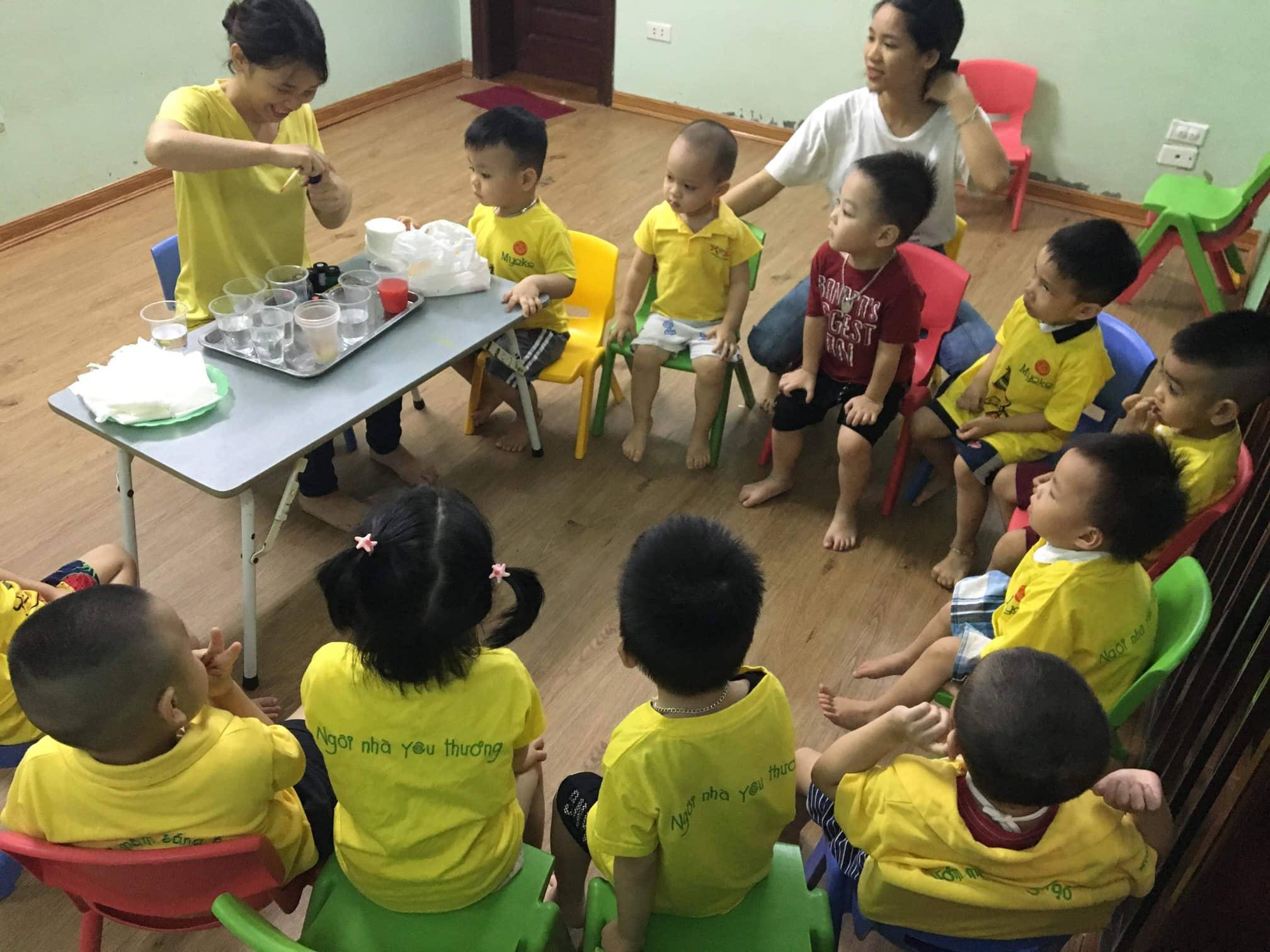 Trường mầm non Myoko Kindergaten - Unimax, Quang Trung