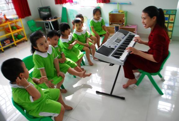 Trường mầm non Nam Mỹ - Phước Long A