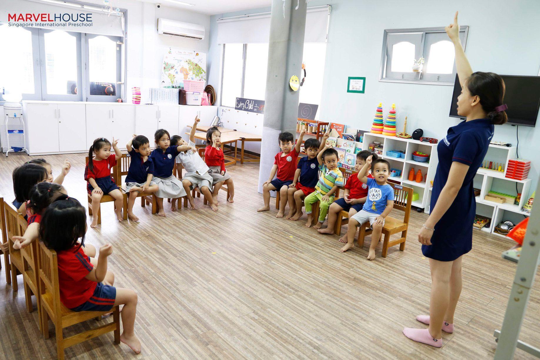 Trường mầm non Ngôi Nhà Kỳ Diệu (Marvel House Singapore International Preschool)