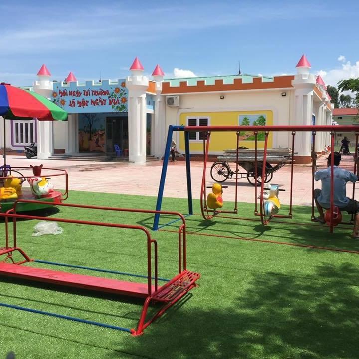 Trường mầm non Nhiệt Điện - xã Ngũ Lão