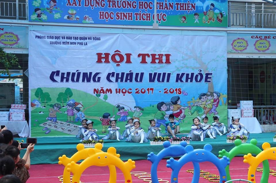 Trường mầm non Phú La - KĐT Mới Văn Phú