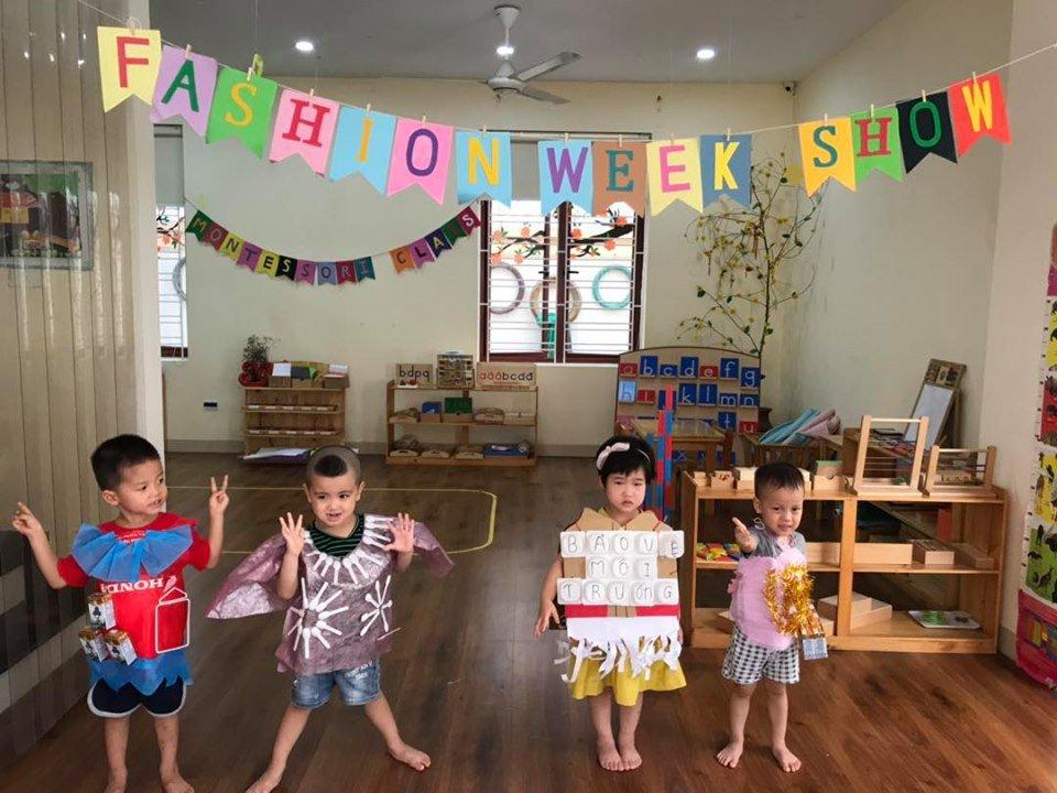 Trường mầm non quốc tê Ánh Sáng Tri Thức Montessori - Hoàng Liệt