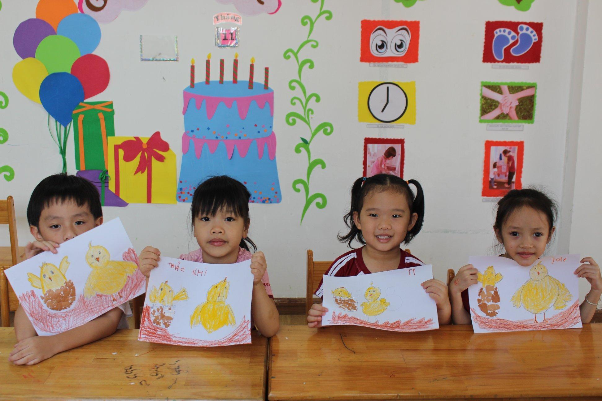 Trường mầm non quốc tế Saigon Academy -  Nguyễn Văn Hưởng