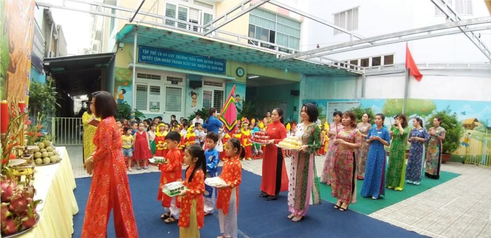 Trường mầm non Quỳnh Hương - Phường 17