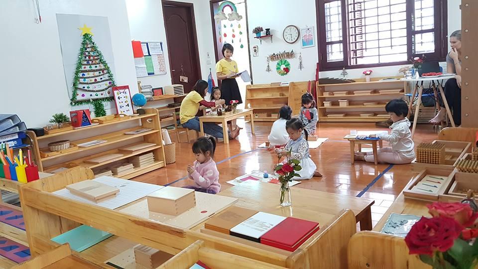 Trường mầm non Rainbow Montessori - Linh Đàm