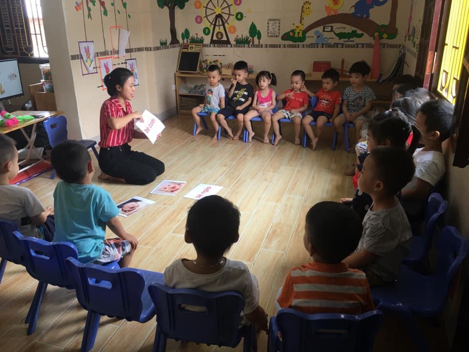 Trường mầm non Sao Vàng - Định Công