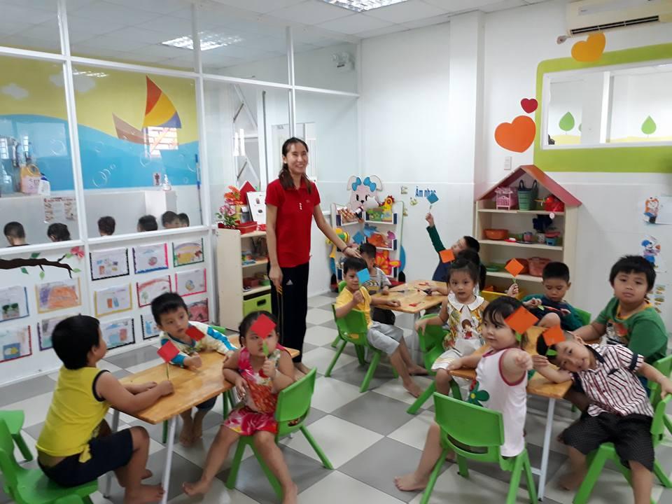 Trường mầm non Sen Hồng - Hòa Thạnh