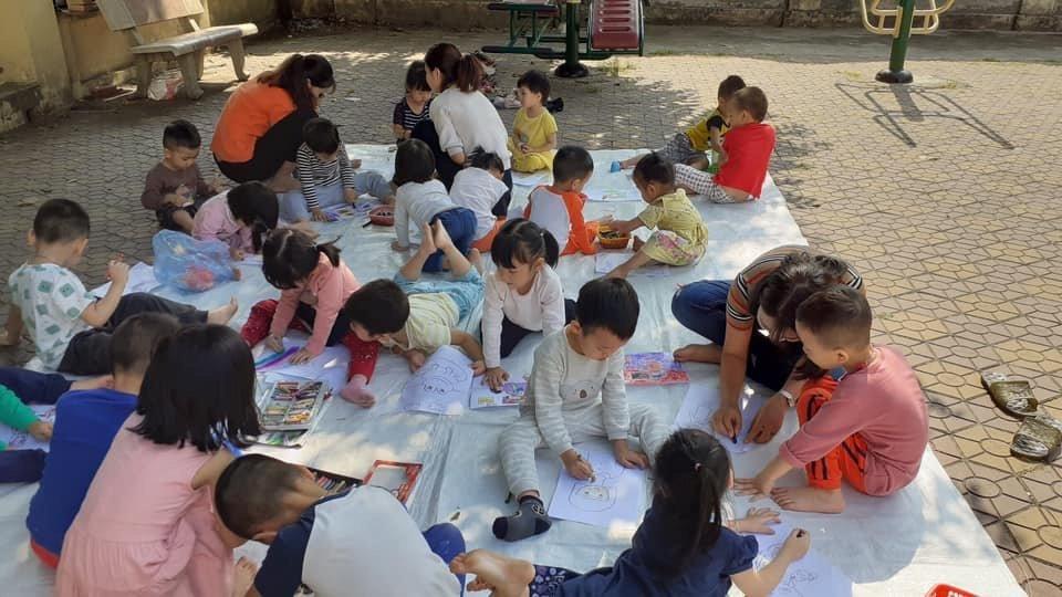 Trường mầm non Sesame Garden ( Vườn Vừng ) - Trung Hoà