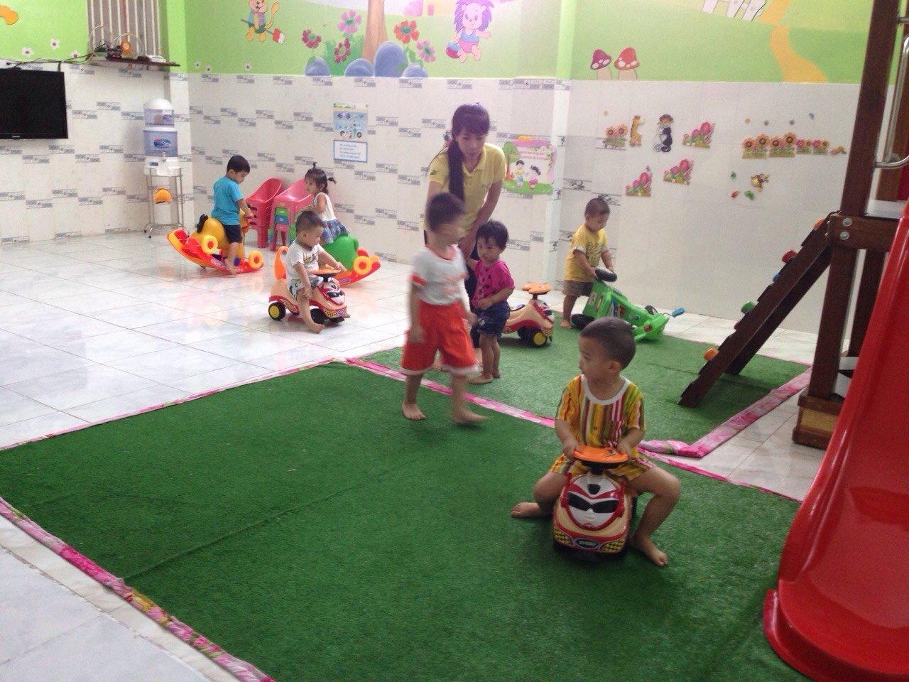 Trường mầm non Sơn Ca - Tân Quý