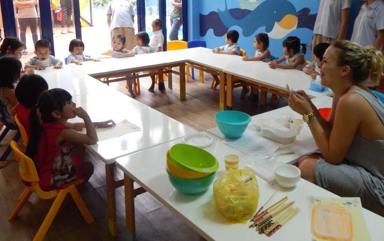 Trường mầm non Song ngữ Hooray -  Điện Biên Phủ