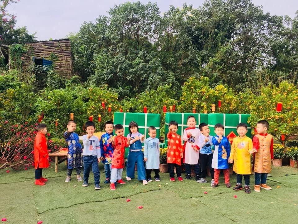 Hệ thống mầm non Song ngữ Kids smile Montessori  - Hoàng Quốc Việt (cơ sở 6)
