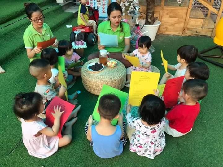Hệ thống mầm non song ngữ Kids Smile Montessori - Hoàng Quốc Việt ( CS 2)
