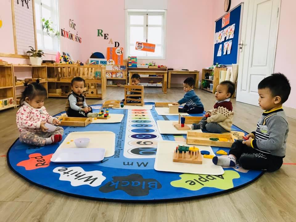 Trường mầm non Song ngữ Montessori Tia Nắng Mai - Cao Lỗ