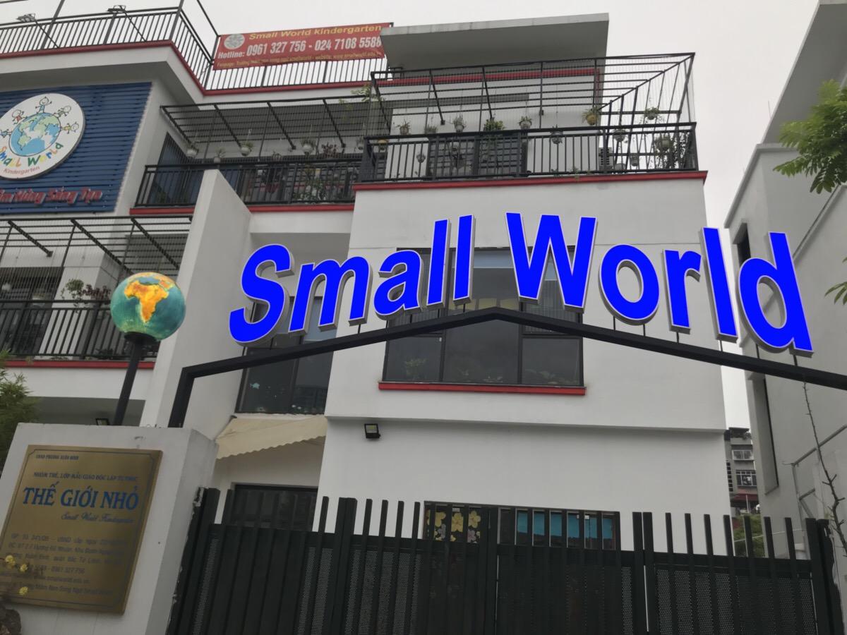 Trường mầm non song ngữ Small World - Xuân Đỉnh