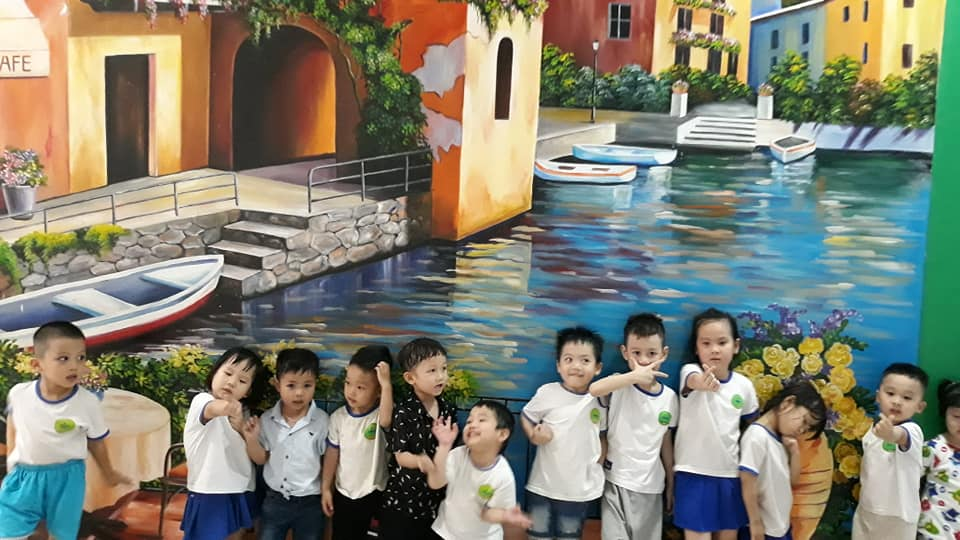 Trường mầm non song ngữ Spring House - Cơ sở Minh Khai